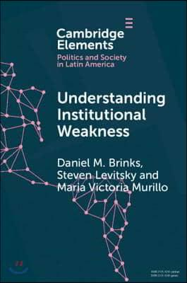 Understanding Institutional Weakness : Power and Design in Latin American Institutions (Paperback)
